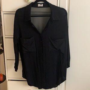 LF Black Blouse